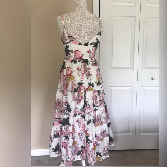 b603edd0391a Lazybones Cityscape White Patterned Midi Dress. Anthropologie.  M_5cfb73782f82767259ef13c8. M_5cfb7374264a55a4251bda57.  M_5cfb74f915281222d7f0591e